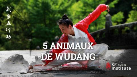 5 animaux du Wudang